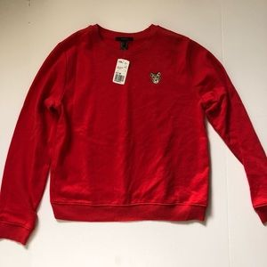 Forever 21 NWT Embroidered sweater